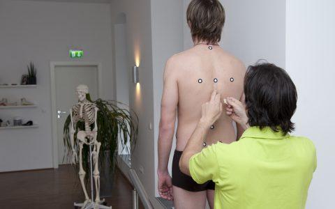Rückenscan